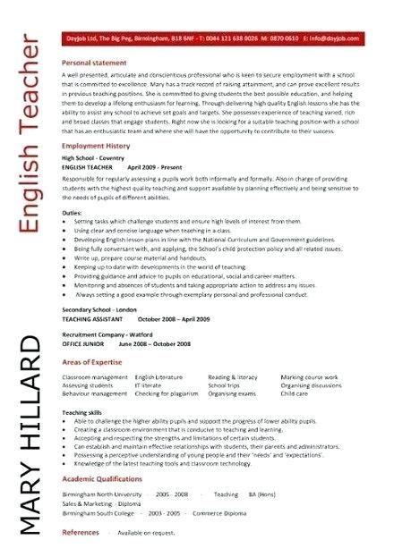Sample Resume For English Teachers Sample Teacher Sample Summary For English Teachers In Japan Sk Jobs For Teachers Teacher Resume Template Teaching Resume