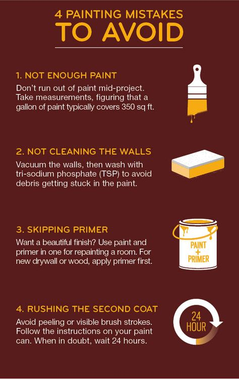If you're starting a paint project, this is a MUST READ! Avoid these common painting mistakes for the best results in your home.