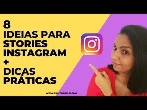 Veja estas 8 Ideias de Stories para Instagram, consiga mais engajamento, seguidores e e tenha um perfil de sucesso na rede social.