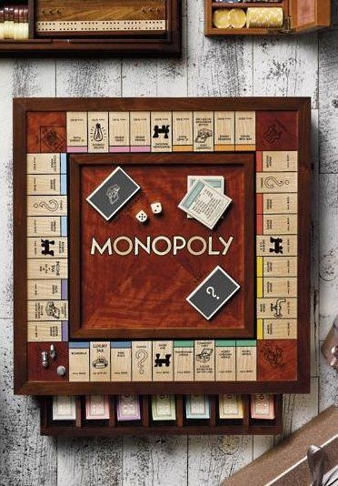 Winnings Solutions Monopoly Heirloom Edition Gift Tech Leisure