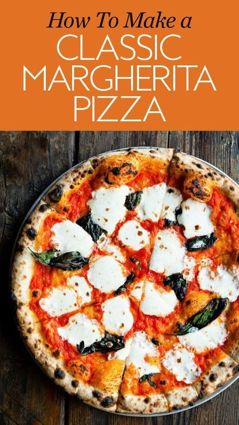 How to Make a Classic Margherita Pizza at Home Using a Cult-Favorite Recipe - Recipes Vegetarian Recipes, Cooking Recipes, Healthy Recipes, Healthy Homemade Pizza, Homemade Pizza Sauce, Sauce Recipes, Pizza Napolitaine, Pita Bread Pizza, Pizza Cheese