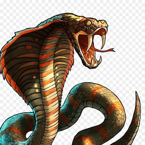 Ular Cobra Men Download Gambar Png Menggambar Ular Hewan Kartun