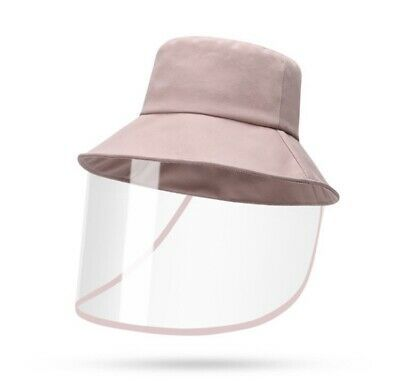 Smiley Face Baseball Cap Removable Face Shield Hat Face Shield Hat Anti-Dust Cap Smile Children Bucket Hat Hat with Shield For Children