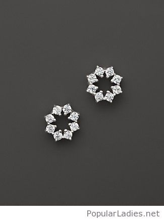 Beautiful Star Earring Design Diamond