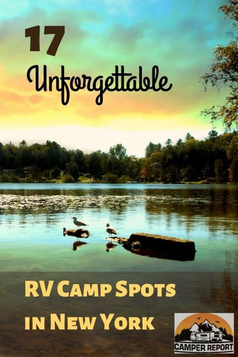 17 Unforgettable RV Camp Spots in New York (Both Parks and Rustic) - Camper Report