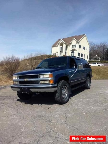 Car For Sale 1996 Chevrolet Suburban