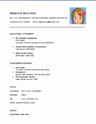 Resume Examples Easy #examples #resume #ResumeExamples Resume