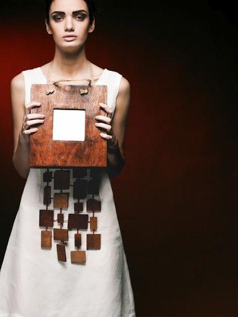 wooden accessories by Tamar Areshidze