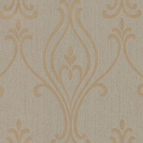 SOPHIE CONRAN WALLPAPER SILVER// GOLD 950605 SPICE RED METALLIC GLITTER