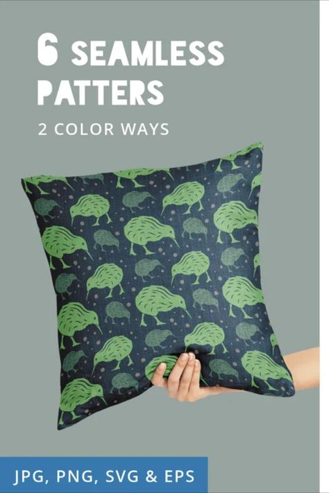 New Zealand Seamless Patterns Papers