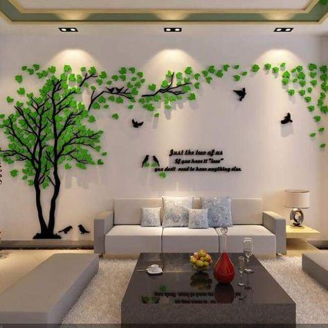Mirror Letter Wall Stickeres Kids Room DIY Craft Decal Art Modern Home Decor
