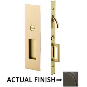 Mortise Pocket Door Hardware Narrow Modern Rectangular Privacy