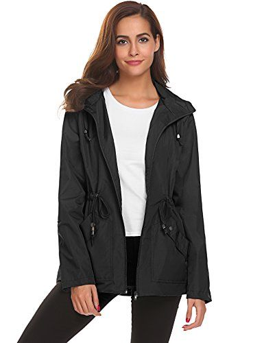 wide selection of designs wide selection of colors exclusive deals Travel Jacket for Women with Pockets Waterproof Rain Coat ...