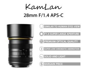 This Is The Upcoming Kamlan 28mm F 1 4 Lens For Canon Eos M Systems And Other Milcs Machang Optics Announced The Developmen Canon Lens Dslr Photography Lens