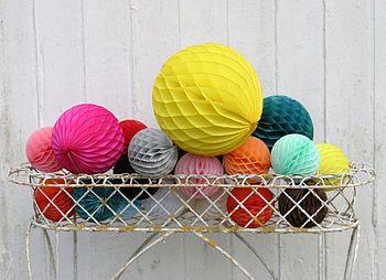 Paper balls.