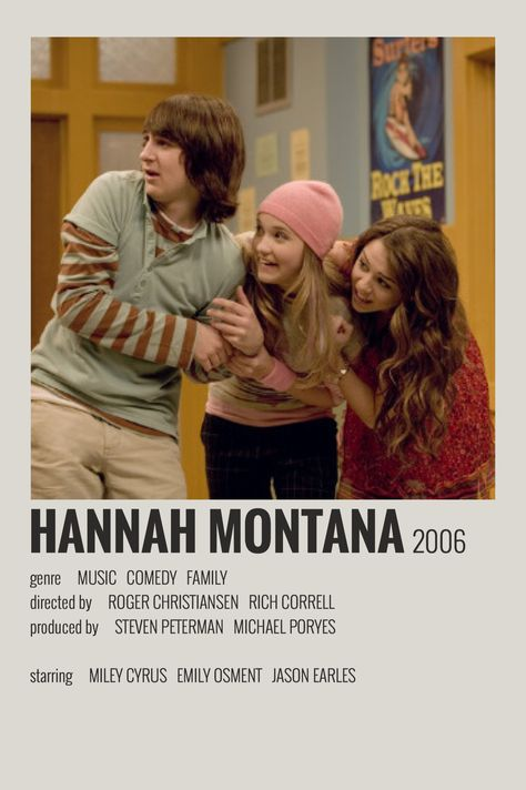 Hannah Montana - Polaroid Poster