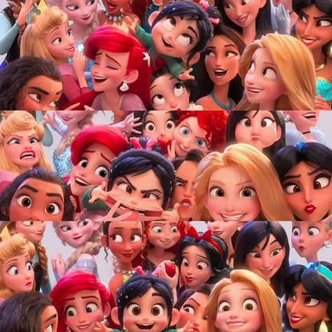 Selfies com as migs princesaxx  . .   #TimelineAcessivel #PraCegoVer  Imagem Vanellope em Wi-fi Ralph com as princesas da Disney     #coxinhanerd #nerd #geek #geekstuff #geekart #nerdquote #geekquote #curiosidadesnerds #curiosidadesgeeks #coxinhanerd #coxinhafilmes #filmes #movies #cinema #cinefilos #euamocinema #adorocinema #disney #disneymovies #princesas #princesasdisney #wifiralph #detonaralph2 #detonaralph #disneyprincess