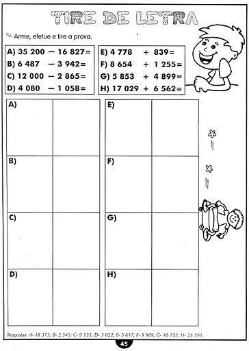 Pin Em 5 Ano Matematica