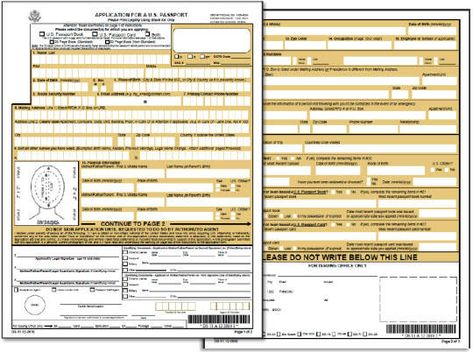 New Passport Application On Pinterest Ancestry, Genealogy And   Passport  Consent Forms