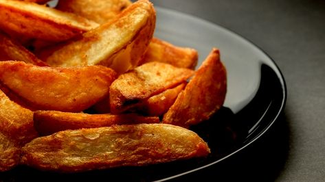 Best Crispy Baked Potato Wedges MAN'S BLACK BOOK