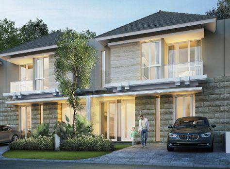 desain rumah minimalis 2 lantai ukuran 8x15 - sekitar rumah