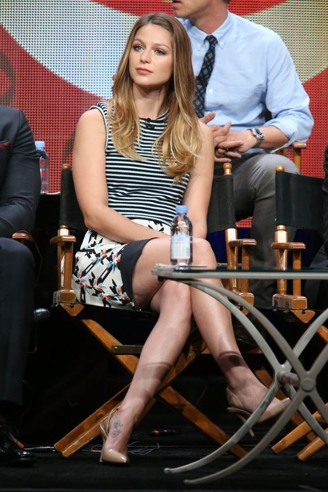 Melissa Benoist Supergirl | MELISSA BENOIST at Supergirl Panel at 2015 Summer TCA Tour in Beverly ...