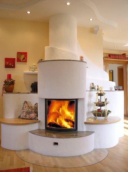 Zeitlose Kachelöfen - KVK - Der Kachelofen Fireplace Pinterest - kachelofen ideen