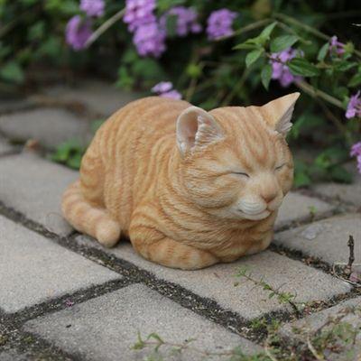 Hi Line Gift Garden Statue 87729 Sleeping Cat