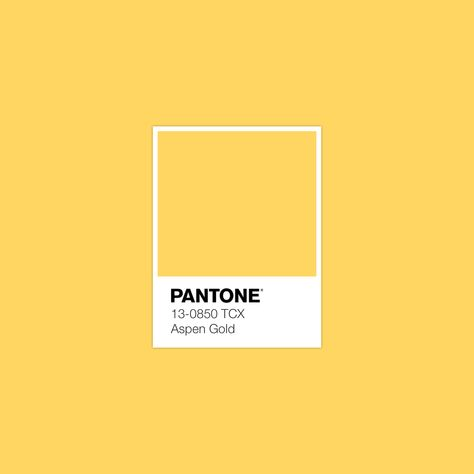 #pantone #Aspen Gold #luxurydotcom
