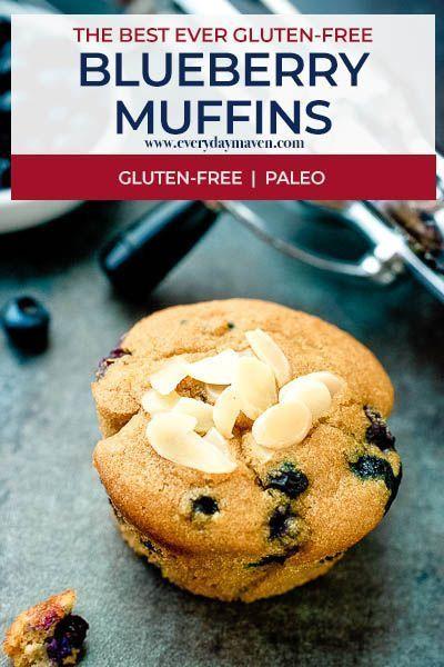 Paleo Blueberry Muffins Grain Free Gluten Free Muffins That Have