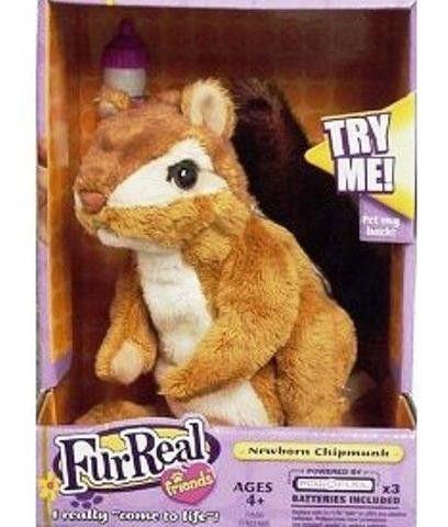 28 Fur Real Friends Newborn Baby Chipmunk Squirrel Rare Brand
