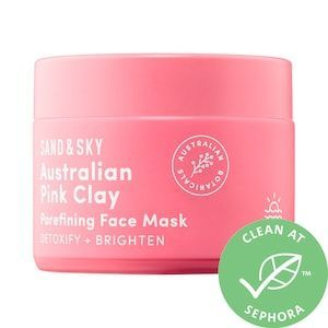 Australian Pink Clay Porefining Face Mask Sand Sky Sephora Peeloffmask Pink Clay Best Face Products Best Face Mask