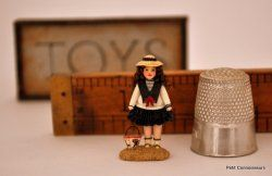 Sailor Girl Toy Doll by Miss Lavender's Memories