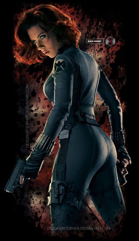 movies Scarlett Johansson Black Widow The Avengers Avengers