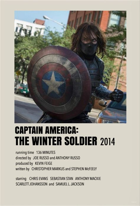 Captain America the winter soldier by millie