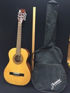 Lot Includes A Jasmine By Takamine Studio Series Acoustic Guitar Model Js241 With Case And A First Act Ma2039 Guit Guitar Musical Instruments Acoustic Guitar