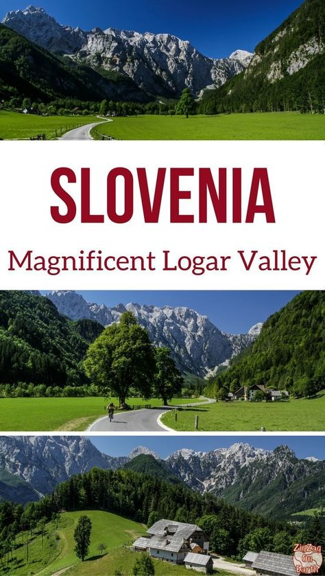 Slovenia Travel Guide - on your road trip about Slovenia, make a detour to admire the Logar Valley. I promise you, you won't be disappointed! Check it out in photos and video (also known as Logarska Dolina) | #slovenia #Ifeelslovenia | Slovenia itinerary