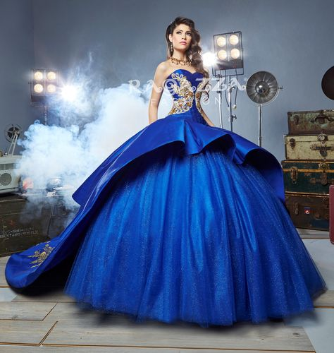 Beaded A-Line Quinceanera Dress by Ragazza Fashion Style B54-354