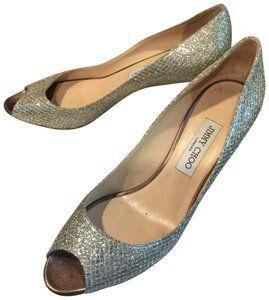 9fbc84c353e Jimmy Choo Champagne Isabel Formal Shoes Size EU 39.5 (Approx. US 9.5)  Regular (M