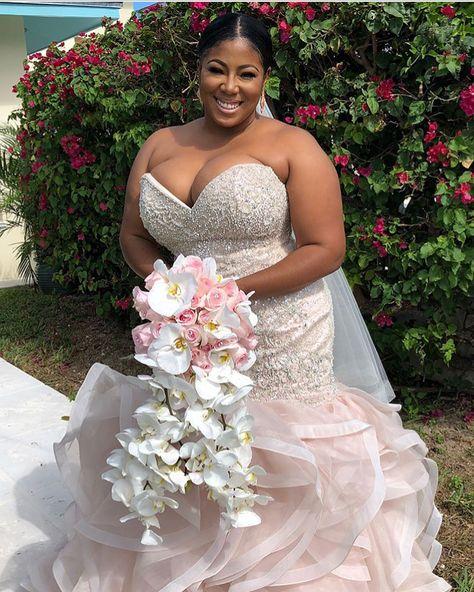 Custom Plus Size Bridal Gowns For Fuller Figured Brides Mermaid Wedding Dress Wedding Dresses Plus Size Wedding Gowns