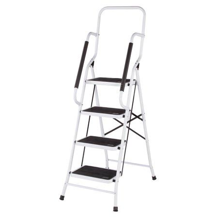 Super Free Shipping Buy Folding Four Step Ladder With Handrails Caraccident5 Cool Chair Designs And Ideas Caraccident5Info