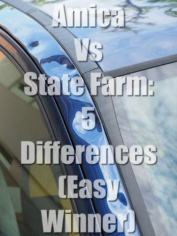 Amica Vs State Farm 5 Differences Easy Winner State Farm Car Insurance Comparison Car Insurance