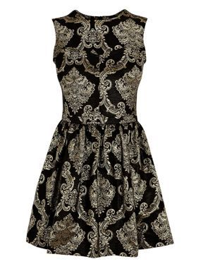 Oasis Baroque jacquard dress Multi-Coloured - House of Fraser