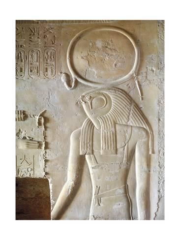 Giclee Print Egypt Luxor Valley Of The Kings Tomb Of Seti Ii Entrance Relief Of Ra From Nineteenth Dynasty 24 Egypt Old Egypt Goddesses Of Ancient Egypt