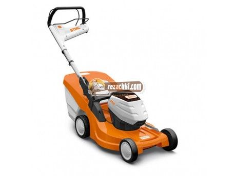 Samohodna Akumulatorna Kosachka Stihl Rma 448 Tc Lawn Mower Stihl Battery Powered Lawn Mower