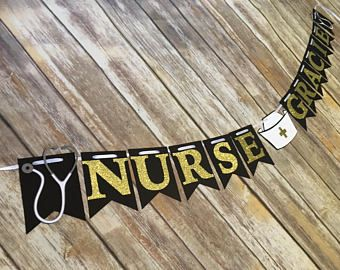 Nurse Graduation Banner Nurse Banner Nurse Graduation Party Nurse Nurse Party Nurse Graduation Party Decorations Nursing Graduation Party Nurse Party