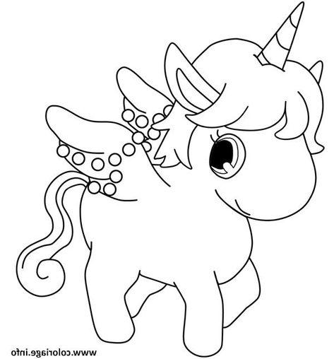 Dessin Licorne Cute Kawaii Coloriage Coloriagedebarbie