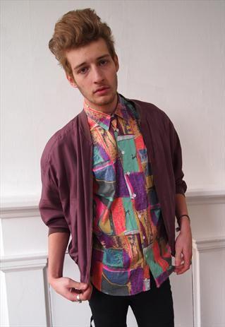 90's silk bomber jacket | Mad Elizabeth Vintage | Pinterest | Silk ...