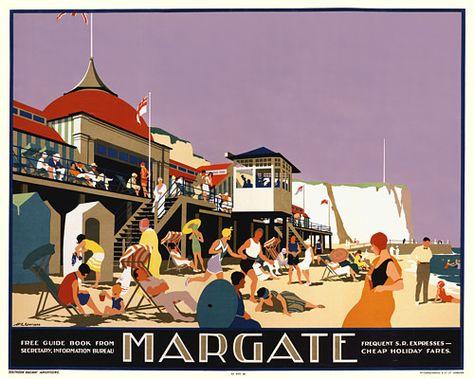 Margate, England   by Gawthorn  1926   http://www.vintagevenus.com.au/products/vintage_poster_print-tv558