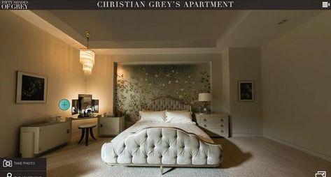 Captivant 50 Nuances De Grey: Lu0027appartement De Christian Grey En Visite Interactive  360°